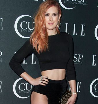 Rumer Willis left little to the imagination at Elle's Women in Music Concert in…