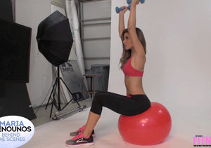 Maria Menounos Shares Her Workout Secrets During Fitness RX Cover Shoot