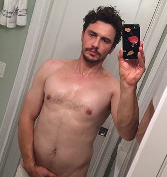 James Franco with His Pants Down! His Nearly Nude Instagram
