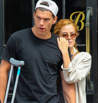 Elvis Presley's granddaughter Riley Keough and injured boyfriend Ben…
