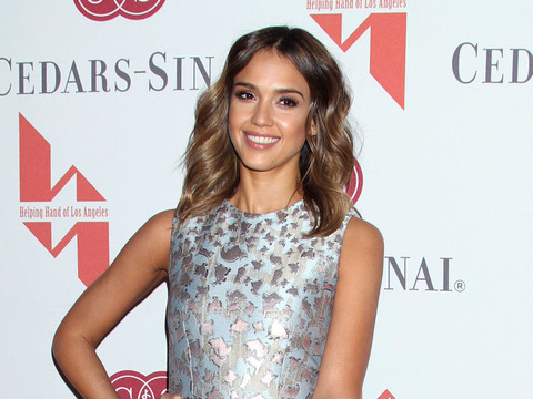 Jessica Alba attended the Helping Hand Of Los Angeles Mother's Day Luncheon at…