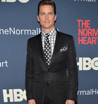 "Matt Bomer showed off his sense of style at the NYC premiere of ""The Normal…"