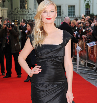 """Kirsten Dunst attended the premiere of """"The Two Faces of January"""" in London."""