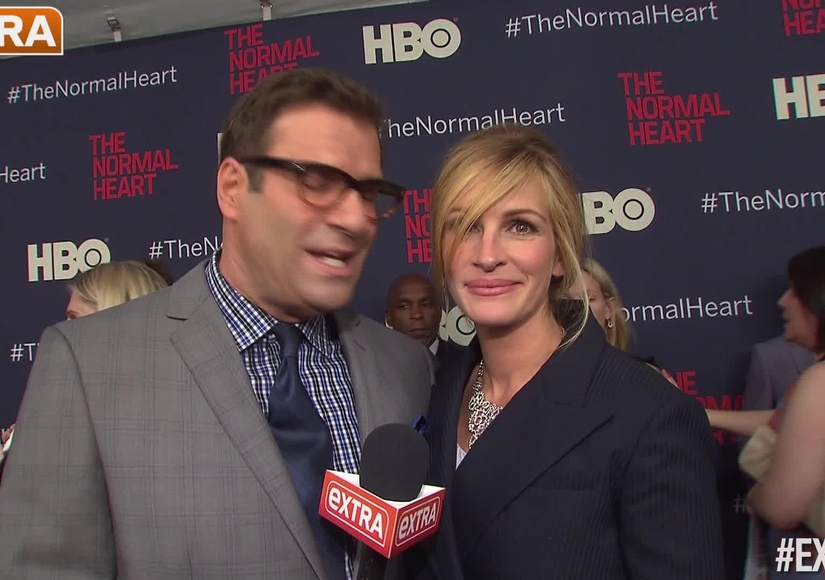 Red Carpet Collision! What Did Julia Roberts Say to Brad Pitt?