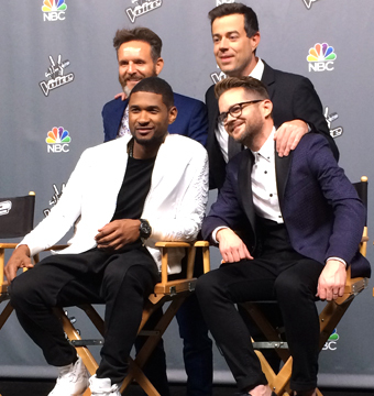 'The Voice' Finale! Usher's Priceless Reaction to Beating Adam and Blake
