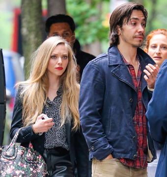 Amanda Seyfried and Justin Long were spotted leaving their apartment in NYC on…