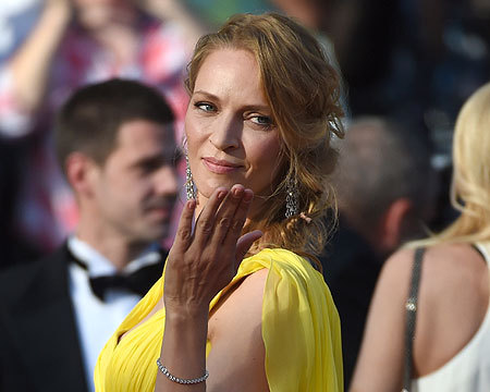 Uma Thurman wowed at the 2014 Cannes Film Festival... see more pics!