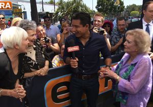 Watch Mario Lopez Squirm During This Hilarious Betty White Prank!