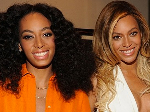Beyoncé and Solange Put On United Front at First Appearance Since Elevator…