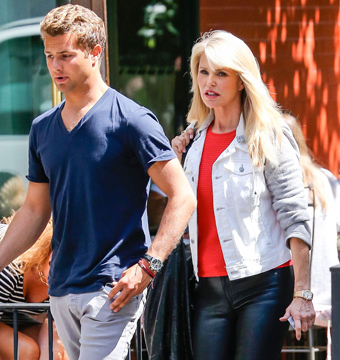 Christie Brinkley and son Jack Taubman did some shopping at Crate and Barrel in…