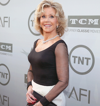 AFI honored Jane Fonda with the institute's Life Achievement Award at a…