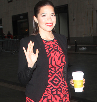 """How to Train Your Dragon 2"" star America Ferrera stopped by the ""Today"" show…"