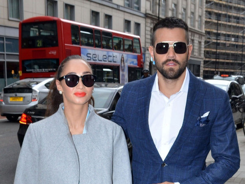 Cara Santana and Jesse Metcalfe got an early look at Hackett's spring/summer…