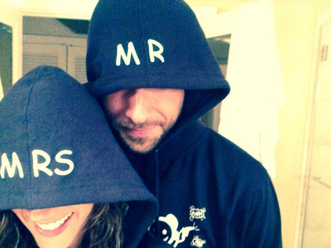 Just Married! Zachary Levi and Missy Peregrym Tie the Knot in Secret Wedding
