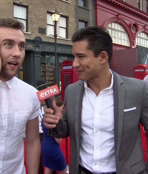 'Harry Potter' Hotness! Neville Longbottom is All Grown Up at Diagon Alley…