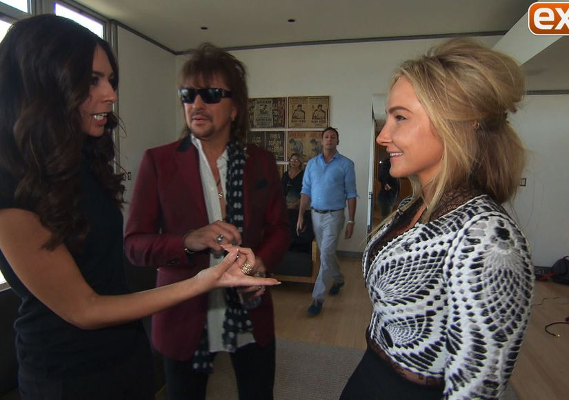 Hanging with Rocker Richie Sambora and Designer Nikki Lund