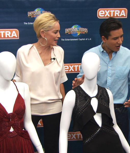 Check Out These Hot Dresses That Sharon Stone is Auctioning for Charity