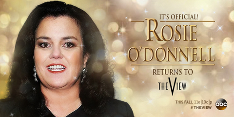 Details! Rosie O'Donnell's 'View' Deal and Who She Reportedly Doesn't Want to…