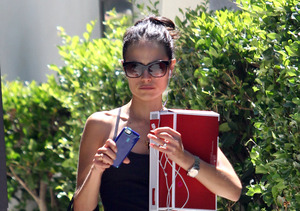 """Fast & Furious 7"" actress Jordana Brewster hit the gym in L.A."