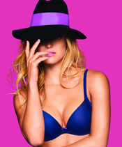Bar Refaeli Models for Lingerie Line