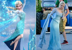 First Look! Georgina Haig as 'Frozen's' Elsa in 'Once Upon a Time'