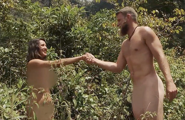 Naked And Afraid Sneak Peek That Awkward Moment When Naked Strangers Meet  Extratvcom-6188