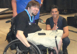 John Stamos Helps a Fan Feel Like a Rock Star