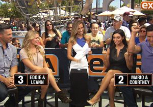 'Extra' Couples Showdown: LeAnn Rimes & Eddie Cibrian vs. Courtney & Mario Lopez