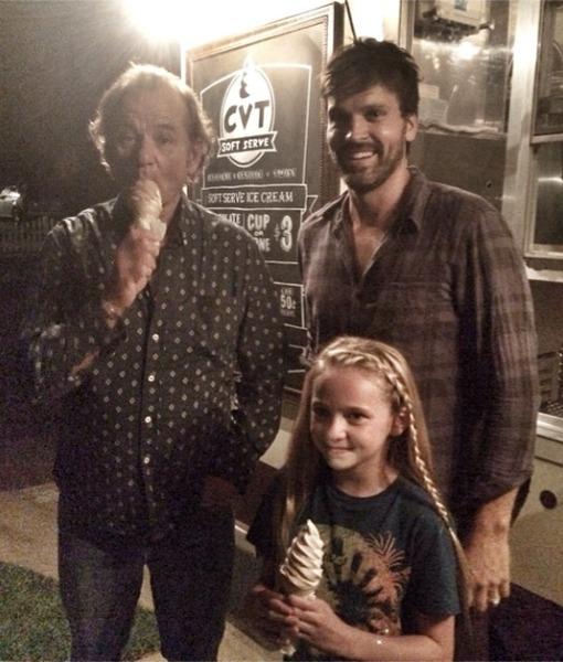 Bill Murray Surprises Man's 'Bill Murray Ice Cream Social' -- See the Pics!