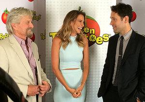 Comic-Con 2014: Michael Douglas & Paul Rudd Talk 'Ant-Man' Costume