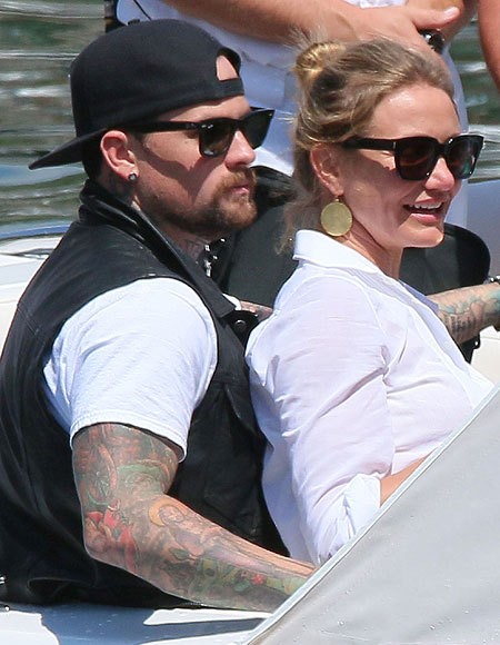 Newlyweds Who Brunch! New Details on Cameron Diaz and Benji Madden's Married…