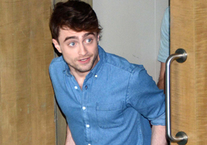 "Daniel Radcliffe turned up in Mexico City for the ""What If"" press day."