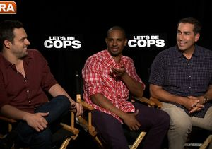 'Extra' Gives the 'Let's Be Cops' Cast Our Law Enforcement Quiz