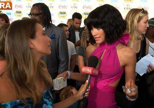 Zendaya Talks Madonna, Fashion, and Her Haters at Teen Choice Awards