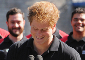 Prince Harry attended a press event ahead of the Invictus Games at Potters…