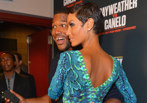 Extra Scoop: Michael Strahan and Nicole Murphy Reunited