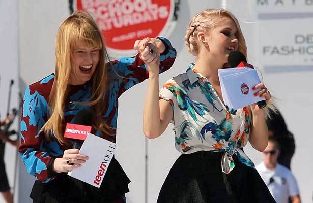 Disney Star Debby Ryan Shares Her Style Secrets at Teen Vogue Fashion Show