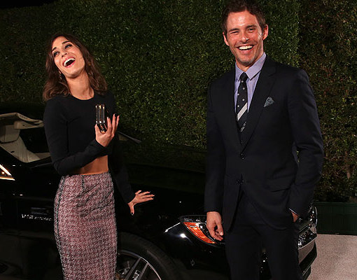 Are Lizzy Caplan and James Marsden an Item?