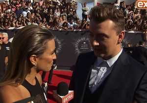 Sam Smith Got a Sneak Peek at Beyoncé's VMAs Performance