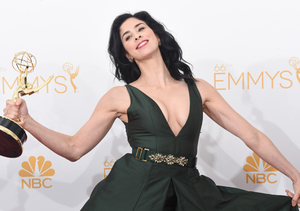 Sarah Silverman Brought Pot to the Emmys, Accepted Award Barefoot