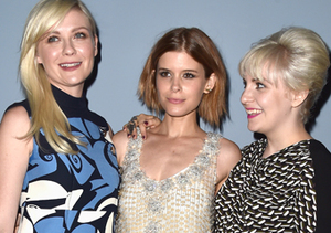 "Kirsten Dunst, Kate Mara and Lena Dunham attended the ""Miu Miu Women's Tales #7…"