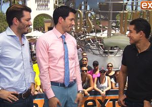 'Extra' Hangs Out with the 'Property Brothers,' Gets Home Renovation Tips