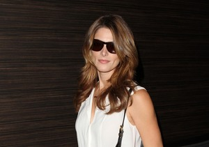 Ashley Greene hopped a flight from LAX to Paris.