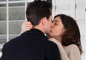 Joseph Gordon-Levitt romantically kissed Lizzy Caplan while filming an untitled…