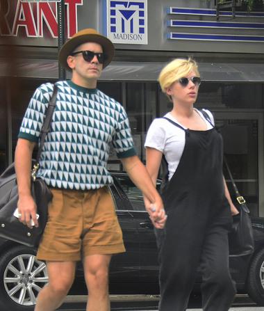 Did Scarlett Johansson Accidentally Reveal Her Baby's Gender?