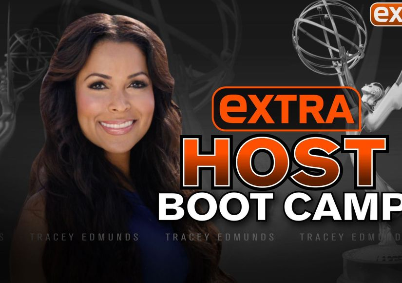 Tracey Edmonds Goes Through 'Extra' Bootcamp... Emmy Style!