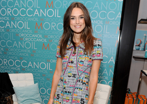 """""""The Imitation Game"""" star Keira Knightley stopped by the Variety Studio at the…"""
