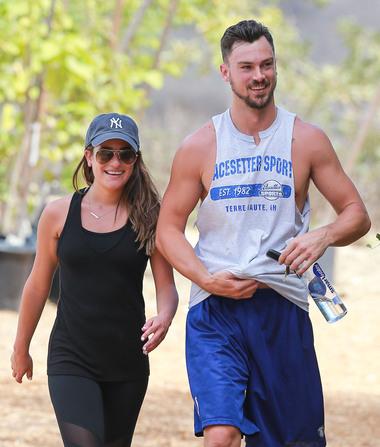 Lea Michele's Model Boyfriend Moves In