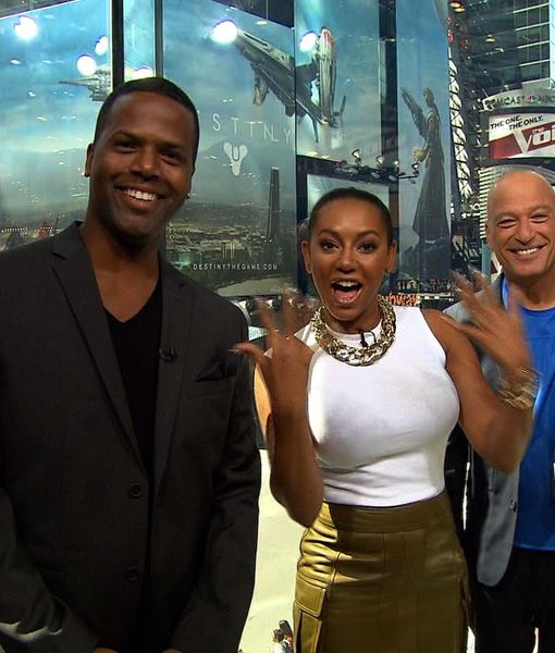 Howie Mandel and Mel B Take Over 'Extra,' Talk 'America's Got Talent' Top 12