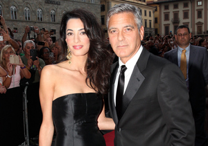 Video! George Clooney Declares His Love for Fiancée Amal Alamuddin
